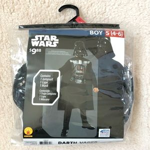Other - NWT Darth Vader costume size small 4-6